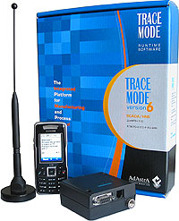 GSM SCADA TRACE MODE remote control and alarming