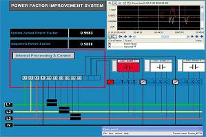 Power Factor Improvement system UET Taxila University Pakistan